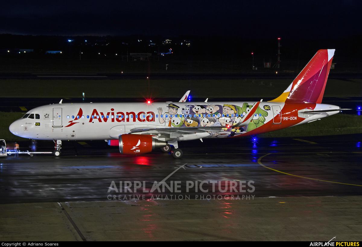 Avianca Brasil PR-OCN aircraft at Curitiba -  Afonso Pena