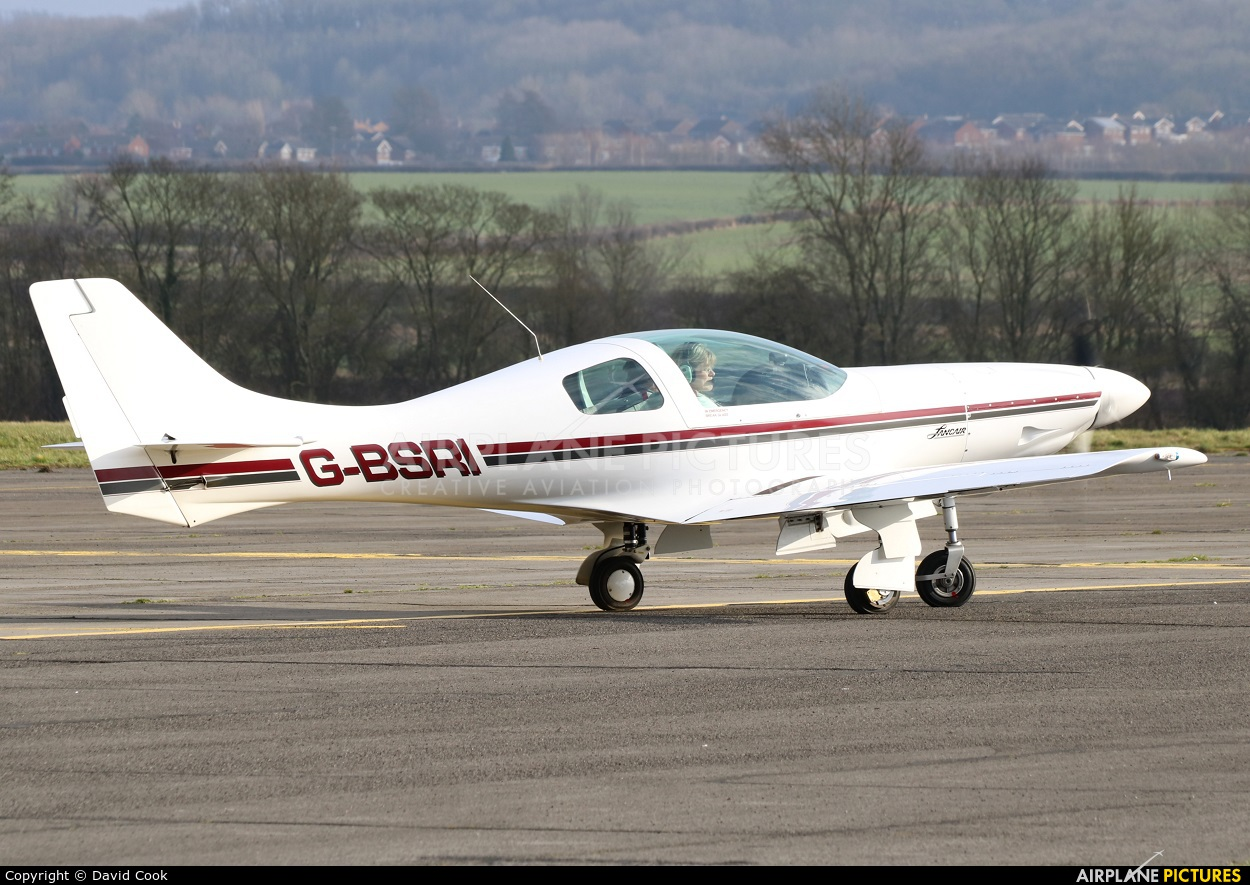 Private G-BSRI aircraft at Tollerton