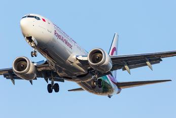 CN-MAX - Royal Air Maroc Boeing 737-8 MAX