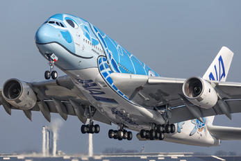 F-WWSH - ANA - All Nippon Airways Airbus A380
