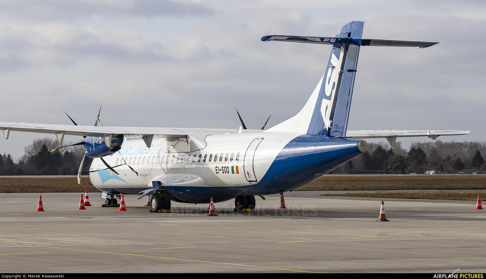 ASL Airlines EI-SOO aircraft at Warsaw - Frederic Chopin