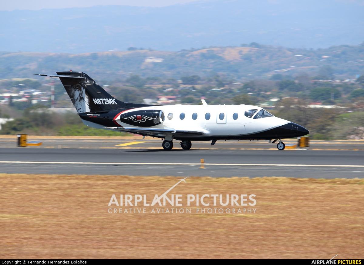 Private N872MK aircraft at San Jose - Juan Santamaría Intl