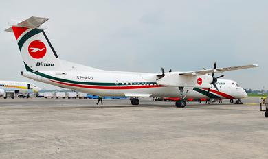 S2-AGQ - Biman Bangladesh de Havilland Canada DHC-8-400Q / Bombardier Q400