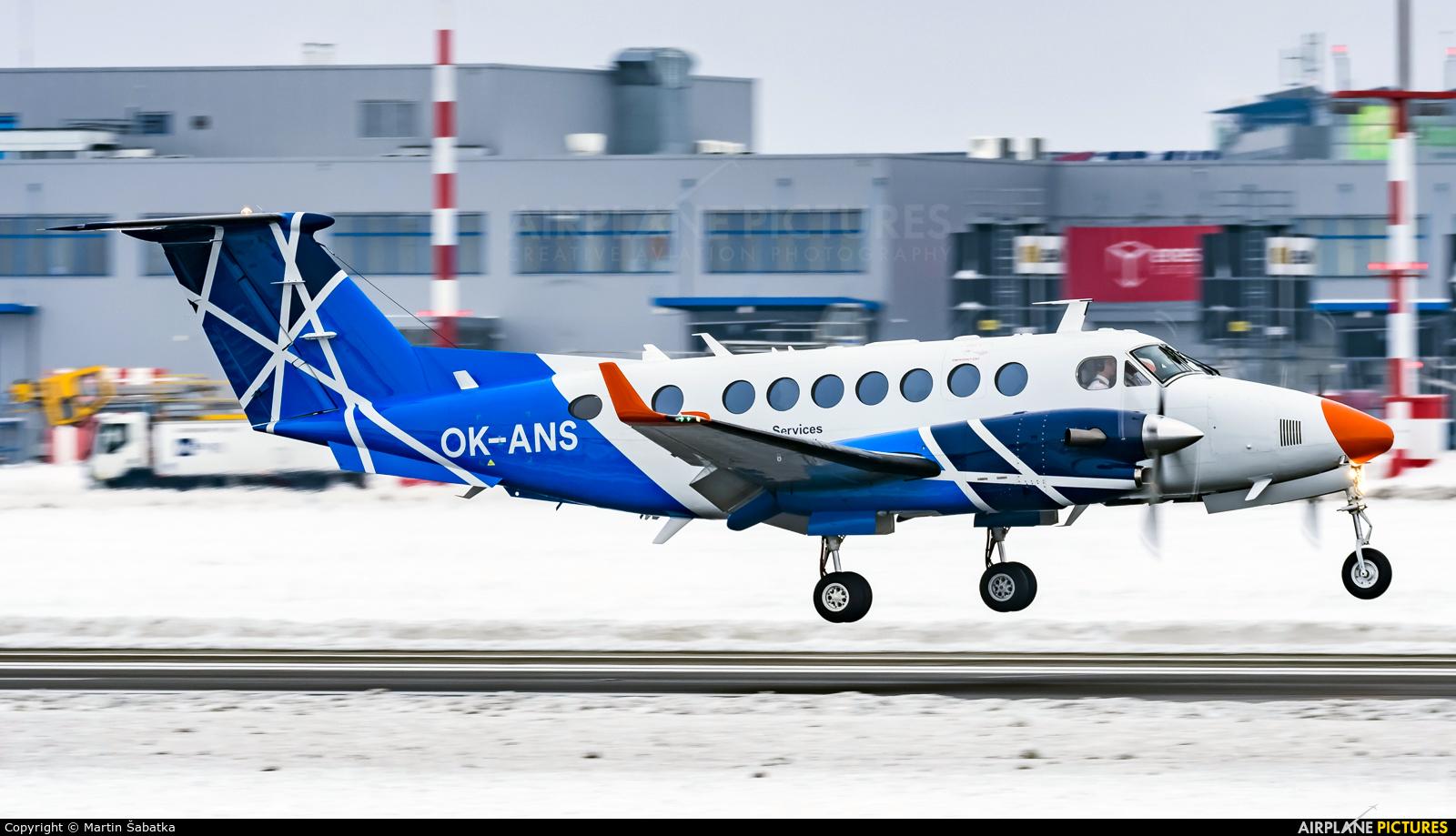 OK-ANS aircraft at Prague - Václav Havel