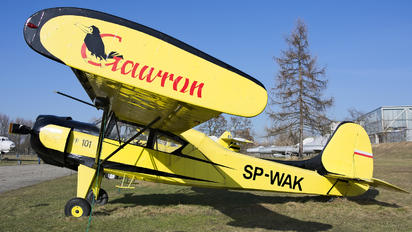 SP-WAK - Private PZL 101 Gawron
