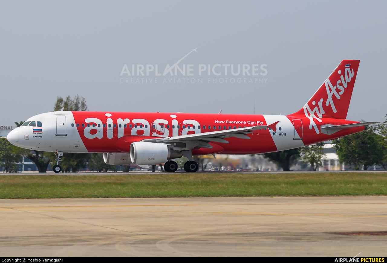 AirAsia (Thailand) HS-ABH aircraft at Bangkok - Don Muang