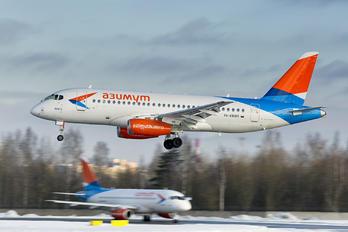 RA-89085 - Azimuth Sukhoi Superjet 100LR