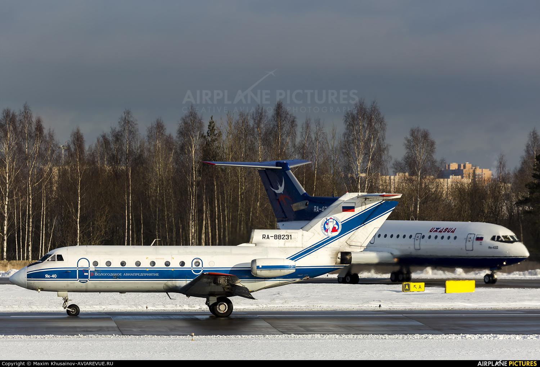 Vologda Air Enterprise RA-88231 aircraft at St. Petersburg - Pulkovo