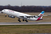 OO-SCW - Eurowings Airbus A340-300 aircraft