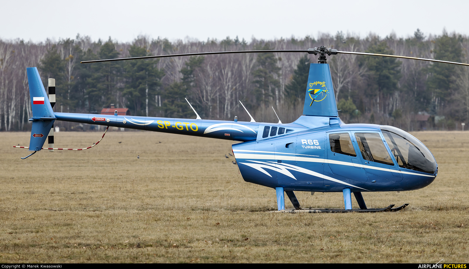 Private SP-GTO aircraft at Warsaw - Babice