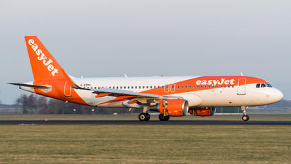 G-EZRV - easyJet Airbus A320