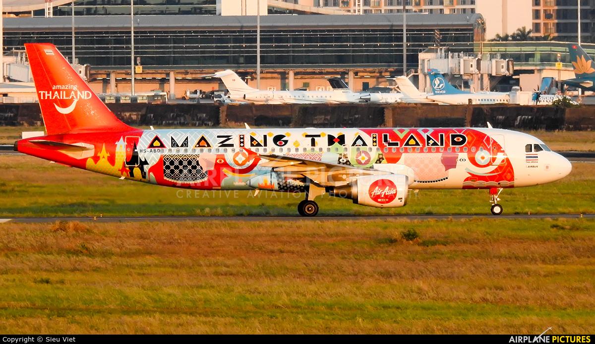 AirAsia (Thailand) HS-ABD aircraft at Ho Chi Minh City - Tan Son Nhat Intl