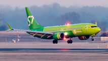 VQ-BGV - S7 Airlines Boeing 737-8 MAX aircraft