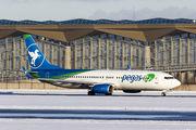 VQ-BUV - Ikar Airlines Boeing 737-800 aircraft