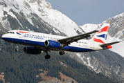 G-EUUY - British Airways Airbus A320 aircraft