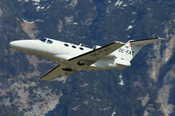 OE-FAT - Globe Air Cessna 510 Citation Mustang