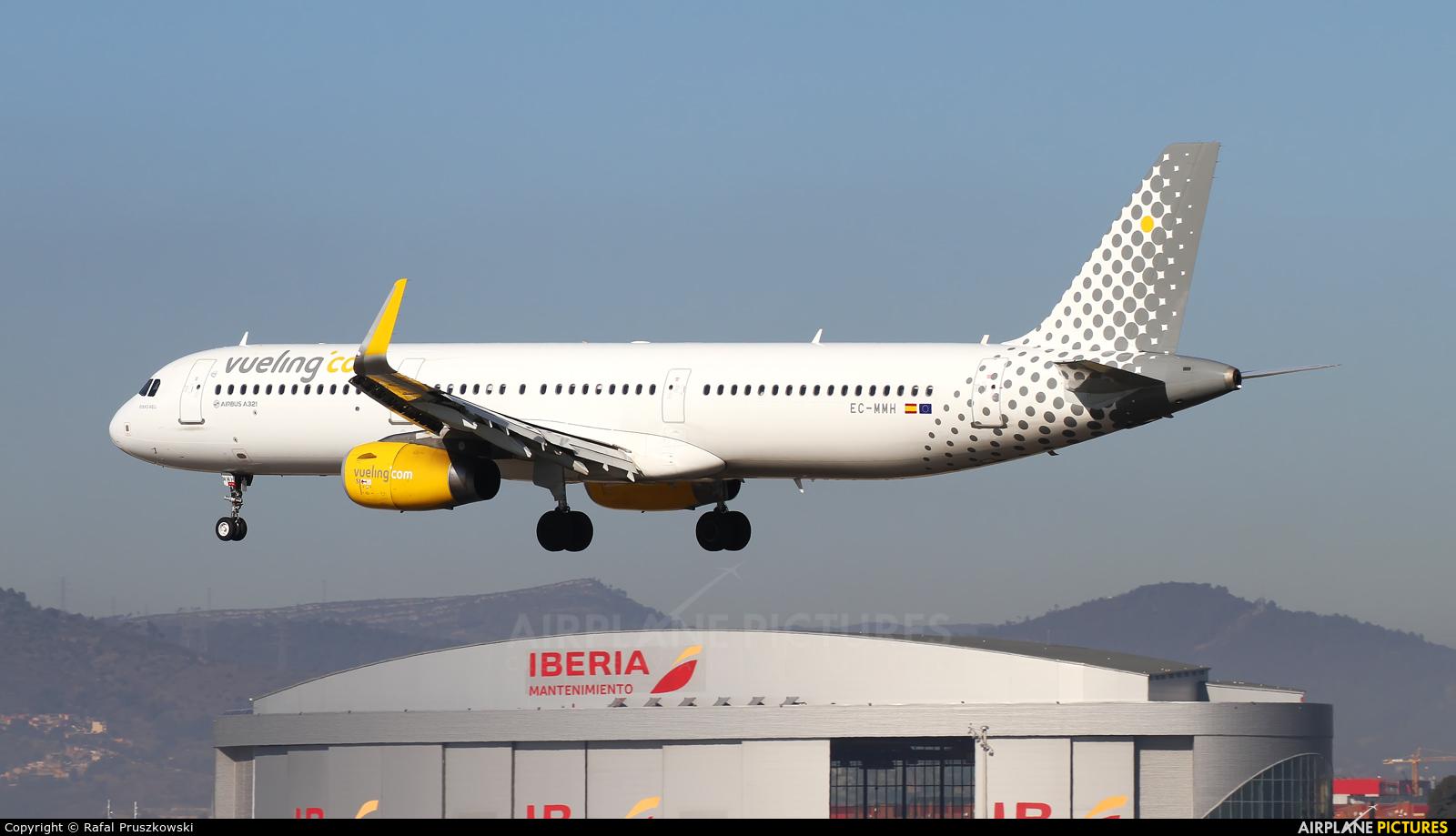 Vueling Airlines EC-MMH aircraft at Barcelona - El Prat