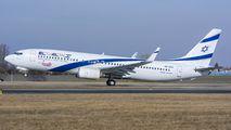 4X-EKI - El Al Israel Airlines Boeing 737-800 aircraft