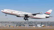 SU-GGG - Egypt - Government Airbus A340-200 aircraft