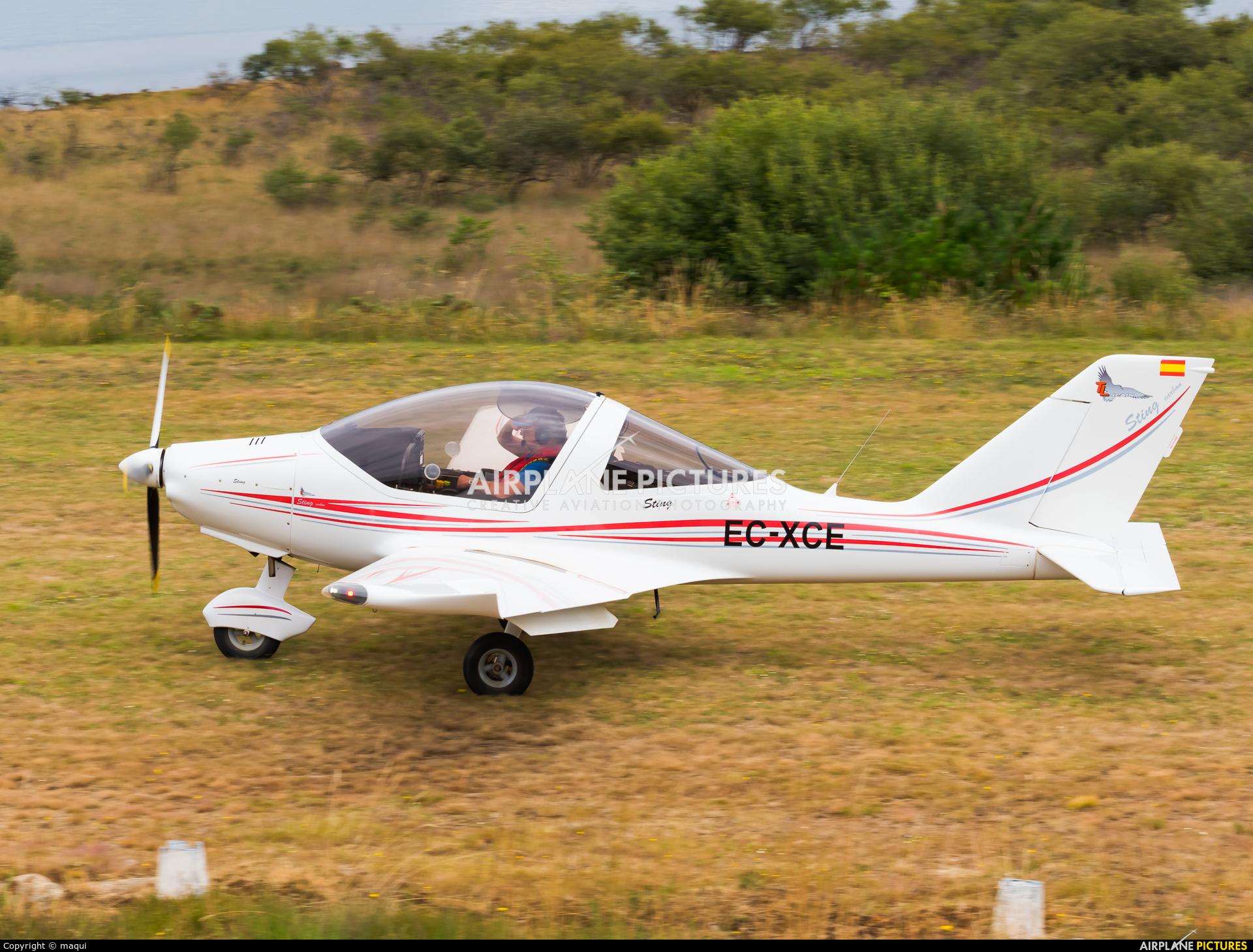 Private EC-XCE aircraft at Aerodromo De Mazaricos