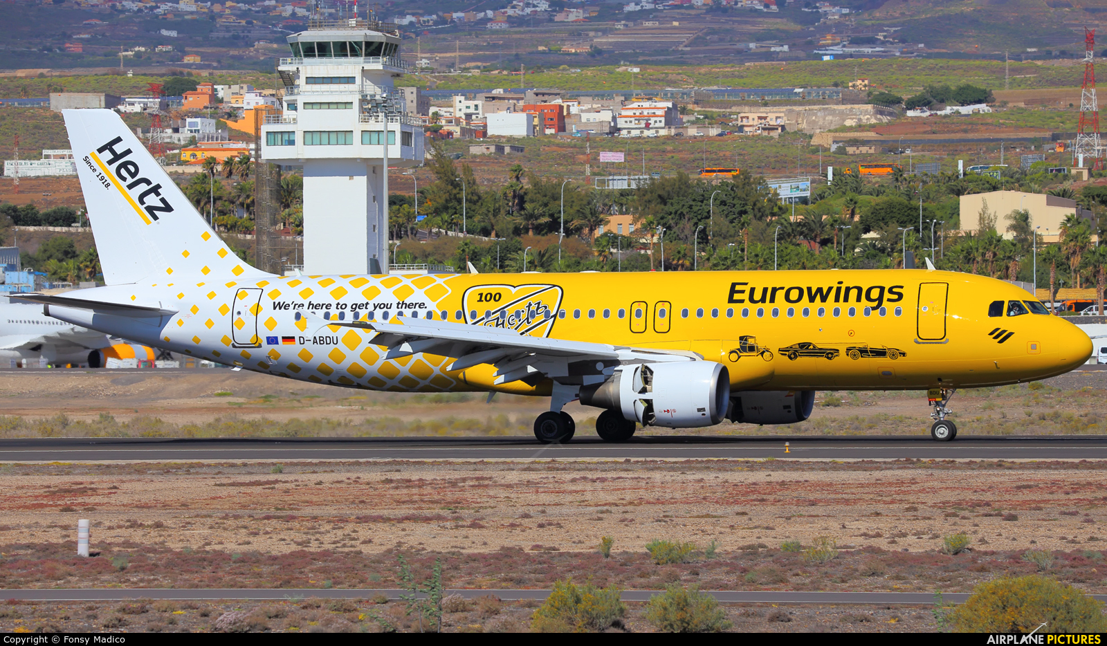 Eurowings D-ABDU aircraft at Tenerife Sur - Reina Sofia