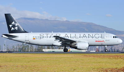 HC-CJW - Aerogal Airbus A320