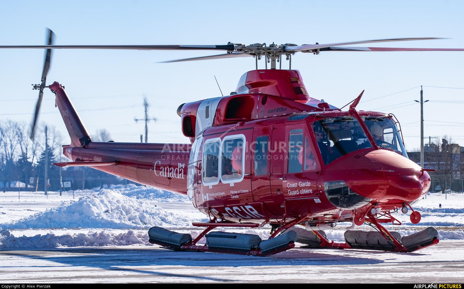 Canada - Coast Guard C-GCIR aircraft at Windsor, ON