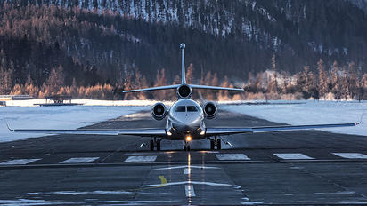 HB-JOB - Cat Aviation Dassault Falcon 7X