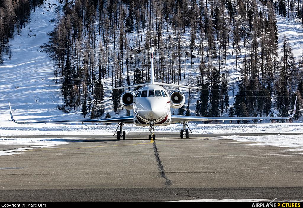 TAG Aviation 9H-JSB aircraft at Samedan - Engadin