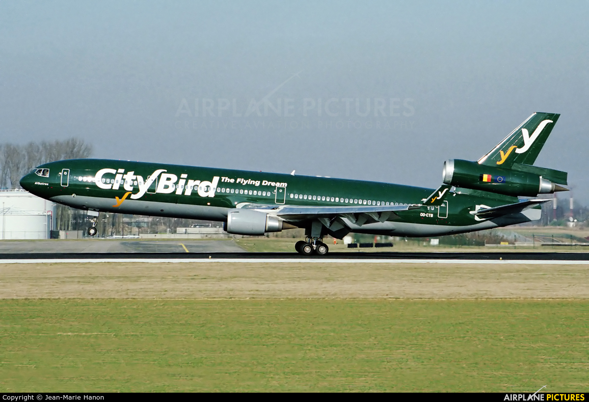 CityBird OO-CTB aircraft at Brussels - Zaventem