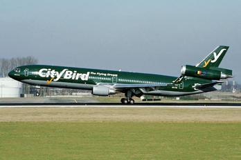 OO-CTB - CityBird McDonnell Douglas MD-11