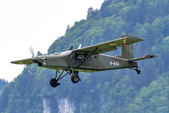 V-634 - Switzerland - Air Force Pilatus PC-6 Porter (all models)