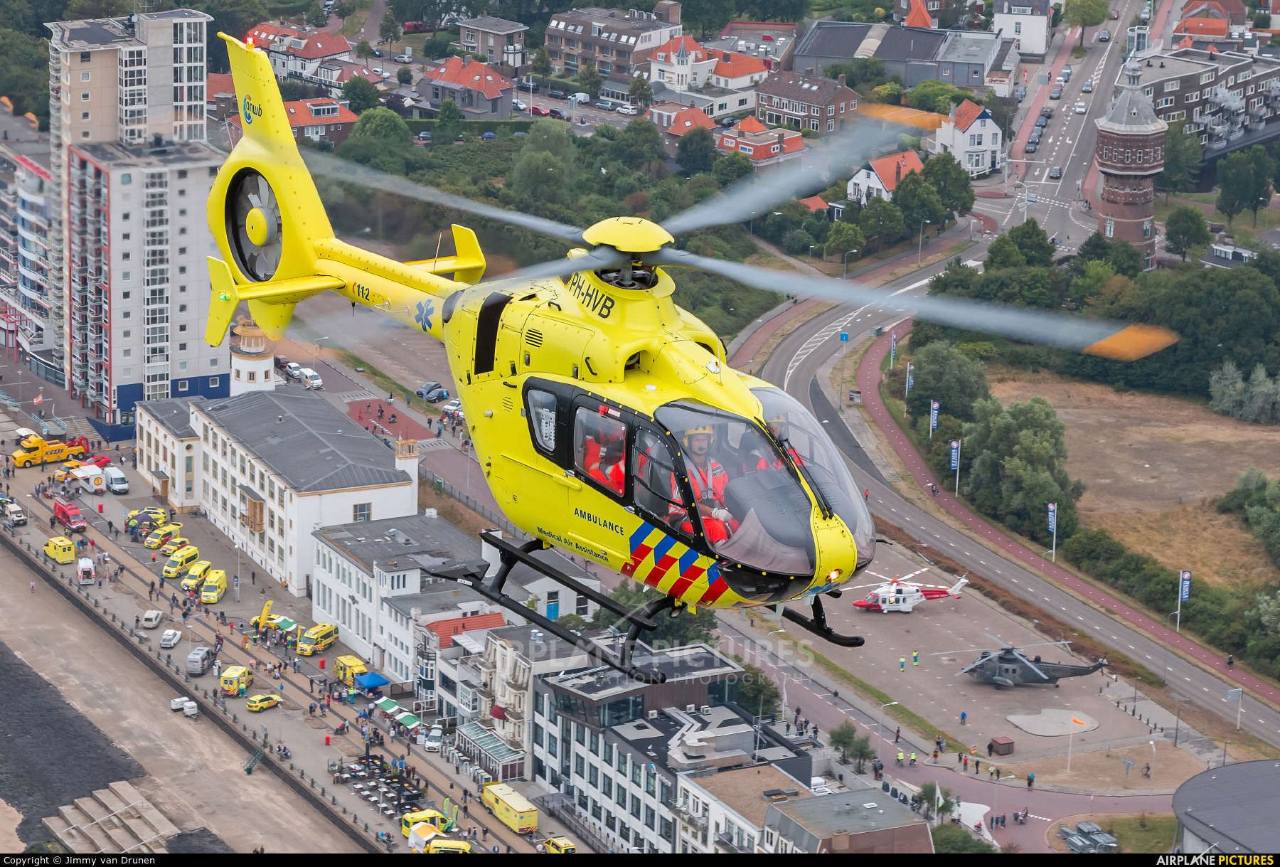 ANWB Medical Air Assistance PH-HVB aircraft at In Flight - Netherlands
