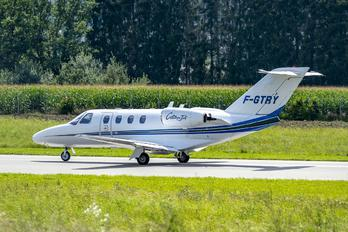 F-GTRY - Private Cessna 525 CitationJet