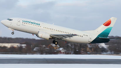 SX-LWA - Lumiwings Boeing 737-300