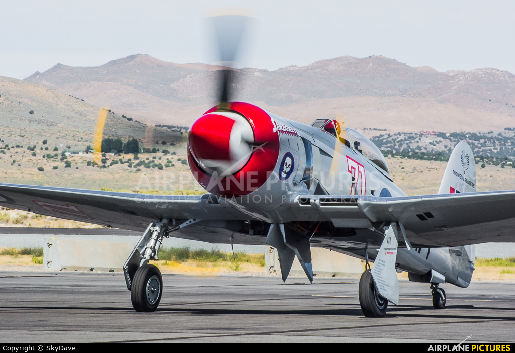 Private N71GB aircraft at Reno - Stead