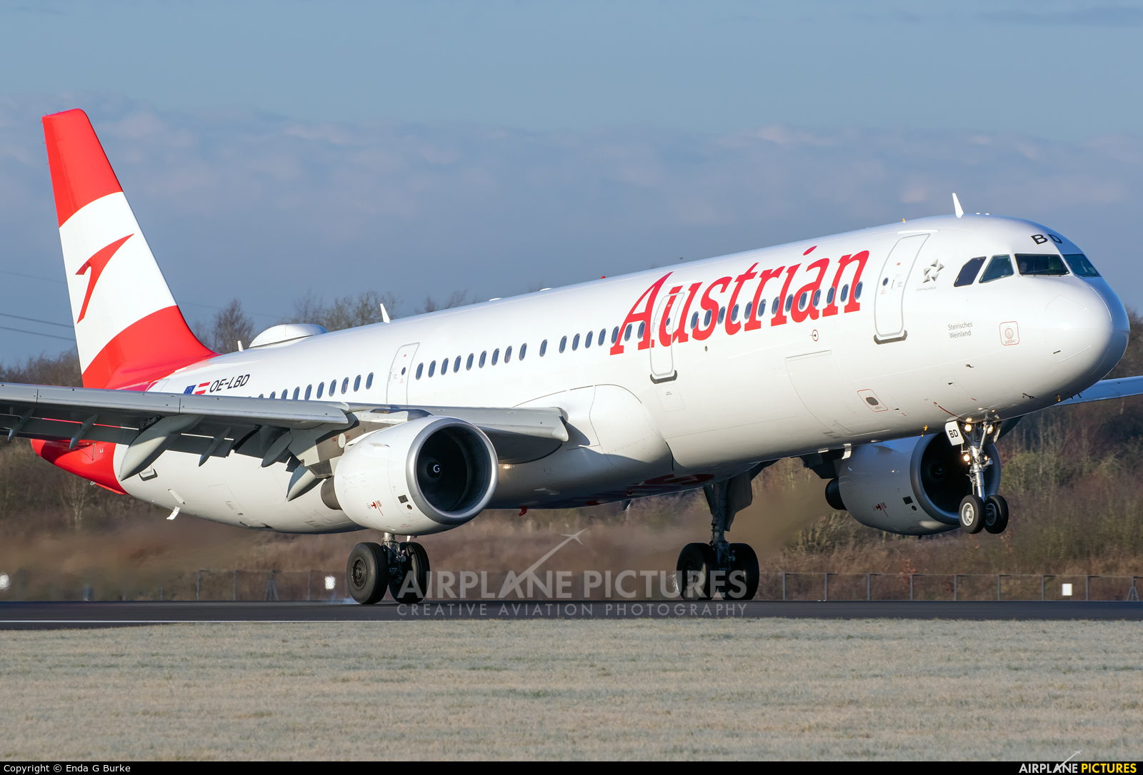 Austrian Airlines/Arrows/Tyrolean OE-LBD aircraft at Manchester