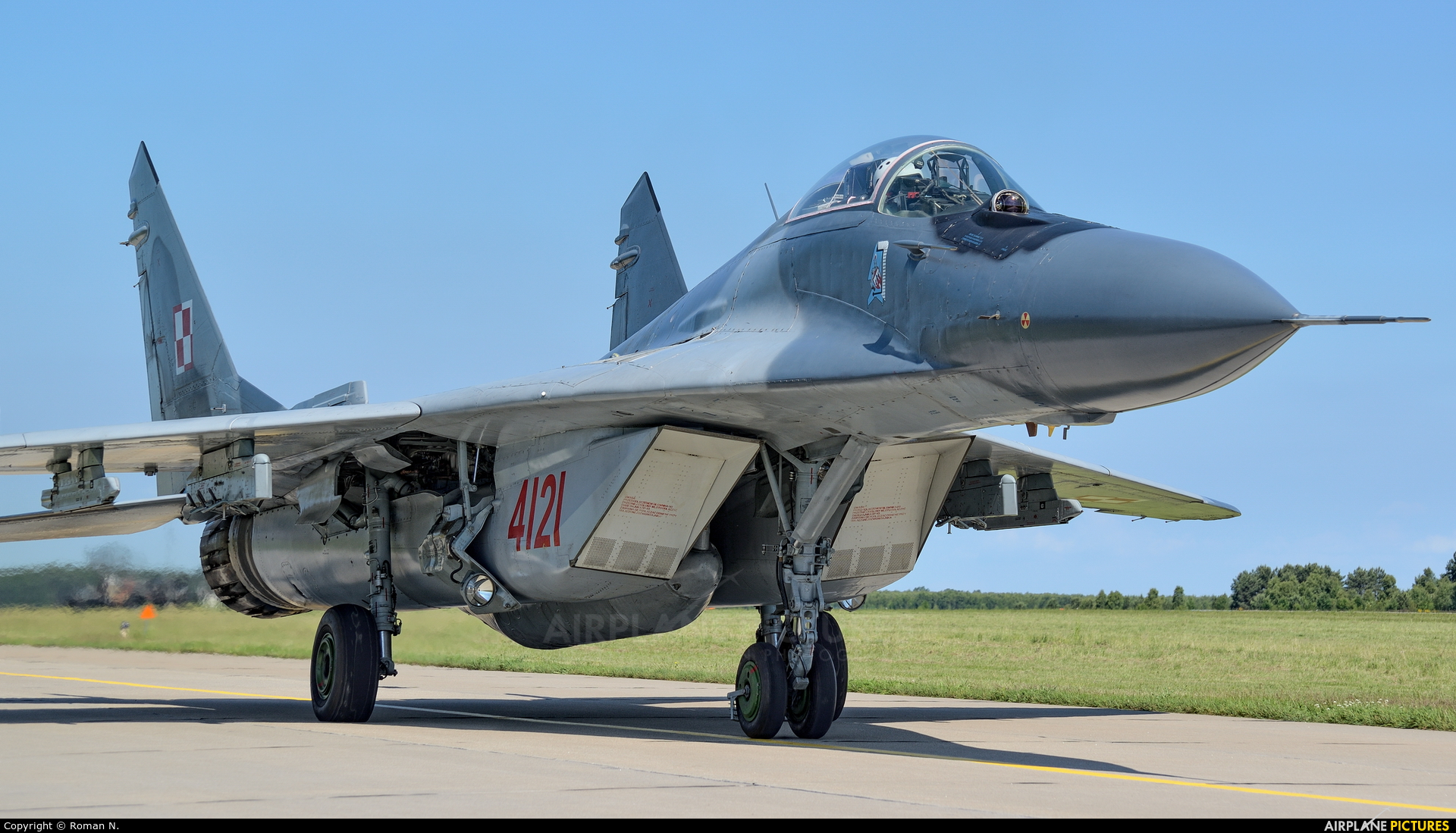 Poland - Air Force 4121 aircraft at Mirosławiec