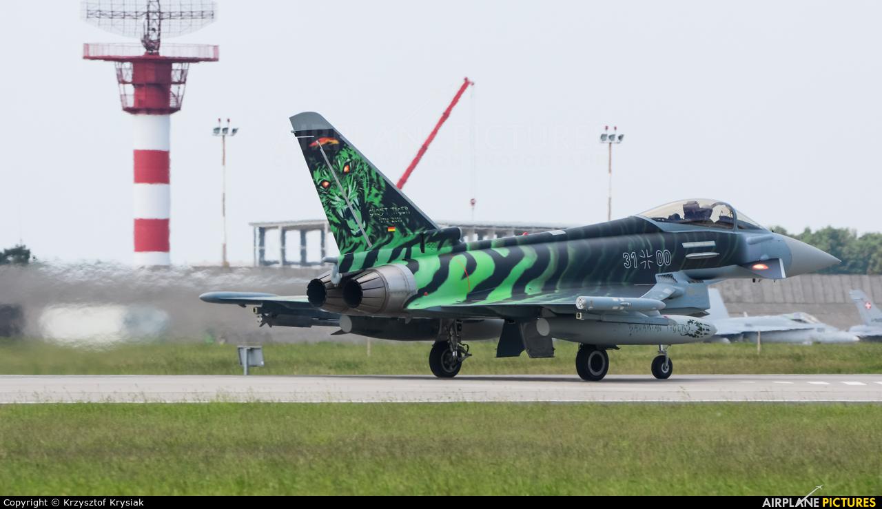 Germany - Air Force 31+00 aircraft at Poznań - Krzesiny