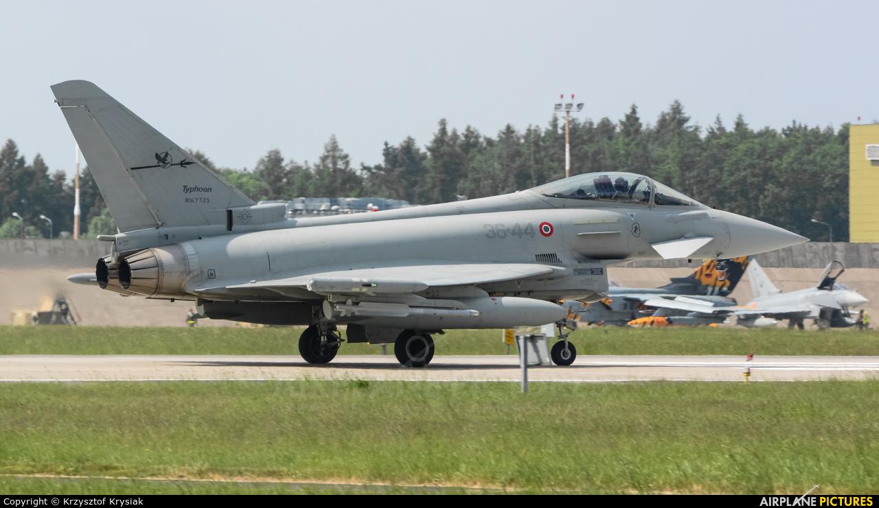 Italy - Air Force MM7325 aircraft at Poznań - Krzesiny
