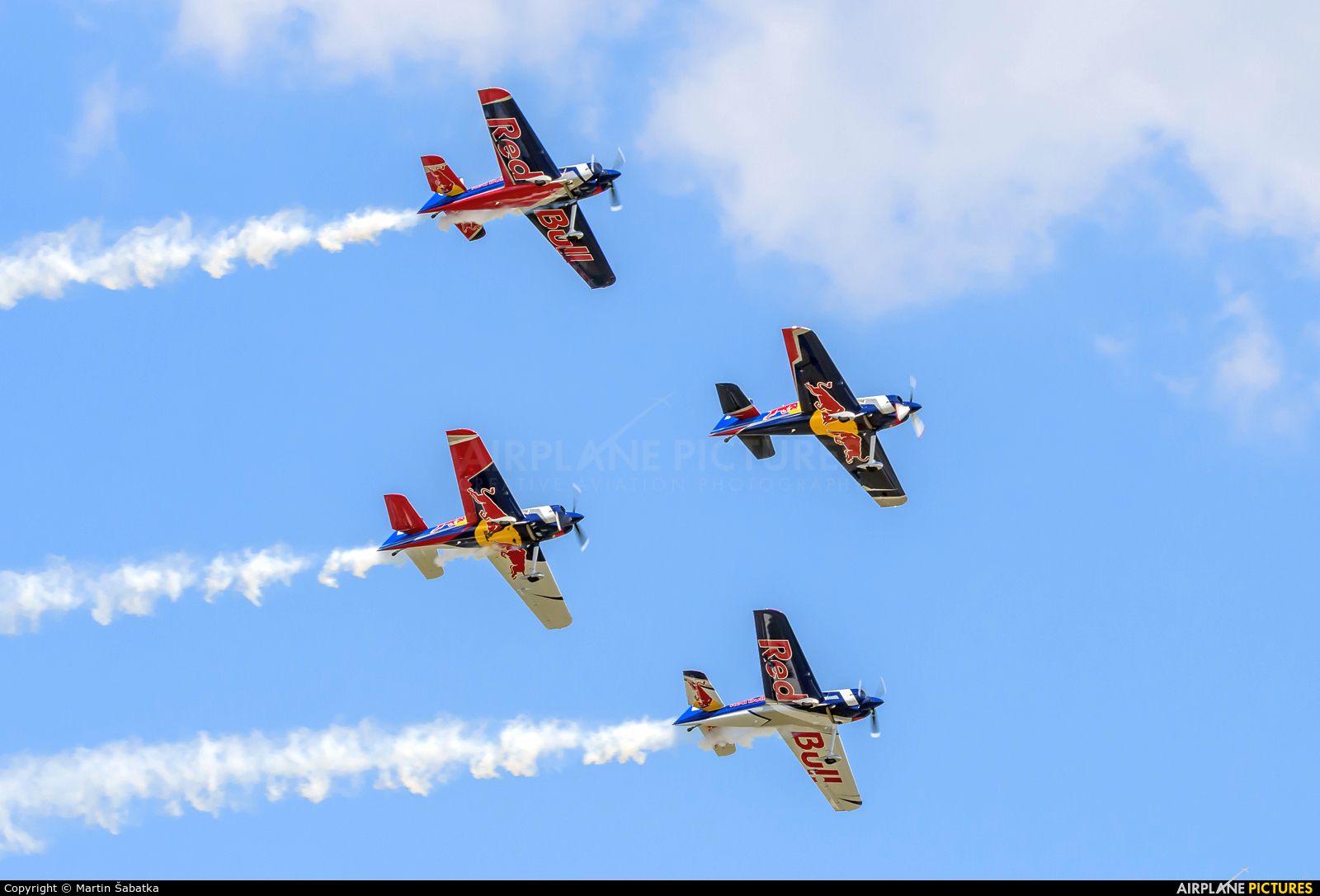 The Flying Bulls : Aerobatics Team OK-FBA aircraft at Mladá Boleslav