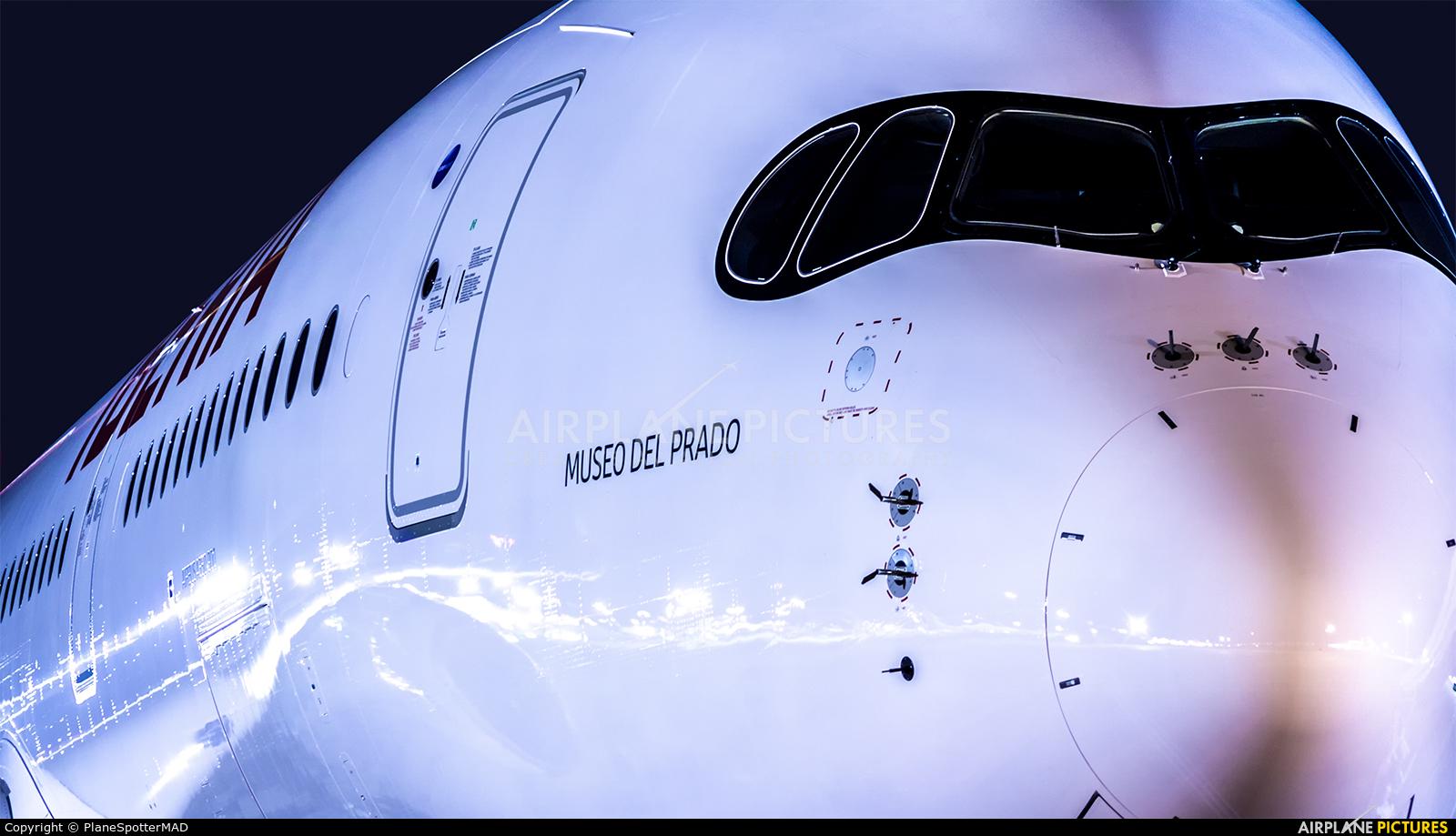 Iberia EC-NBE aircraft at Madrid - Barajas