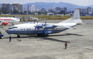 Rare visit of Cavok Air An12 to Guatemala La Aurora title=