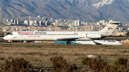 EP-ZAG - Zagros Air McDonnell Douglas MD-82