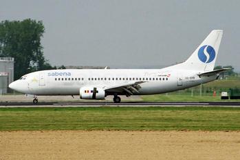 OO-SYB - Sabena Boeing 737-300