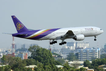 HS-TJC - Thai Airways Boeing 777-200