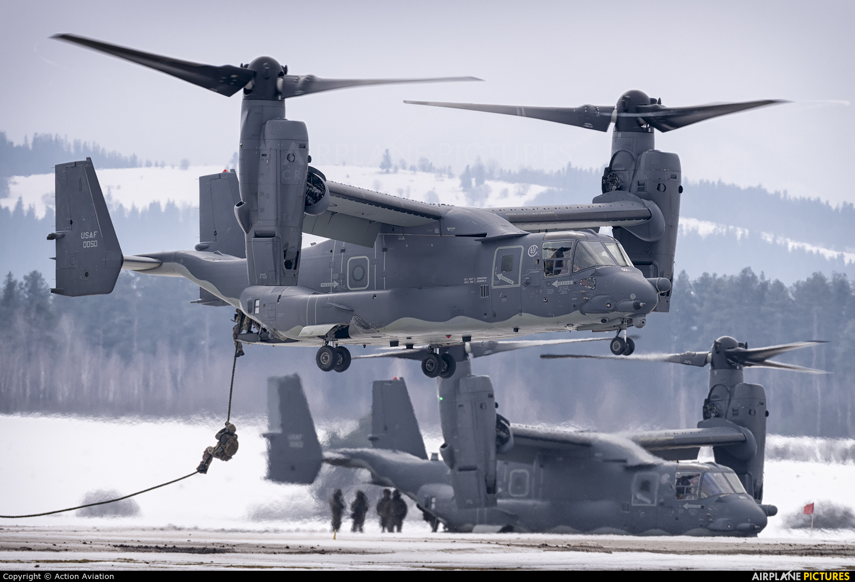 USA - Air Force 10-0050 aircraft at Nowy Targ