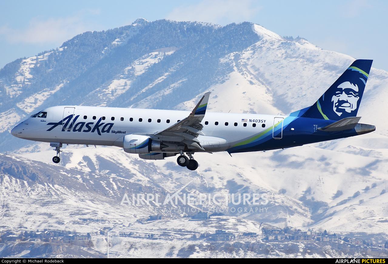 Alaska Airlines - Skywest N403SY aircraft at Salt Lake City