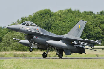 FA-109 - Belgium - Air Force General Dynamics F-16A Fighting Falcon