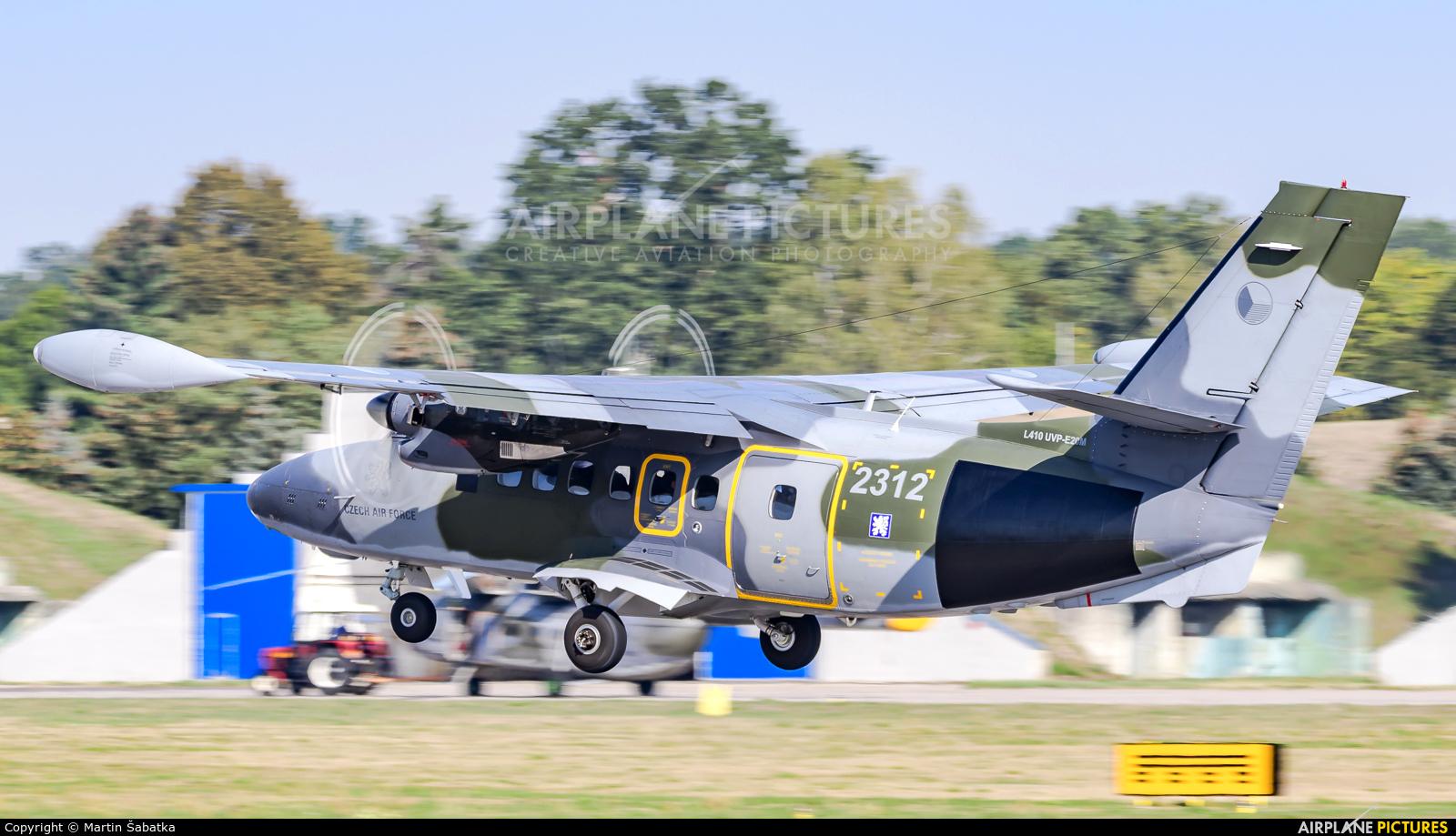 Czech - Air Force 2312 aircraft at Pardubice